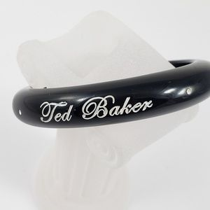 Ted Baker Jewelry - Ted Baker Bangle Bracelet Arm Candy Black White